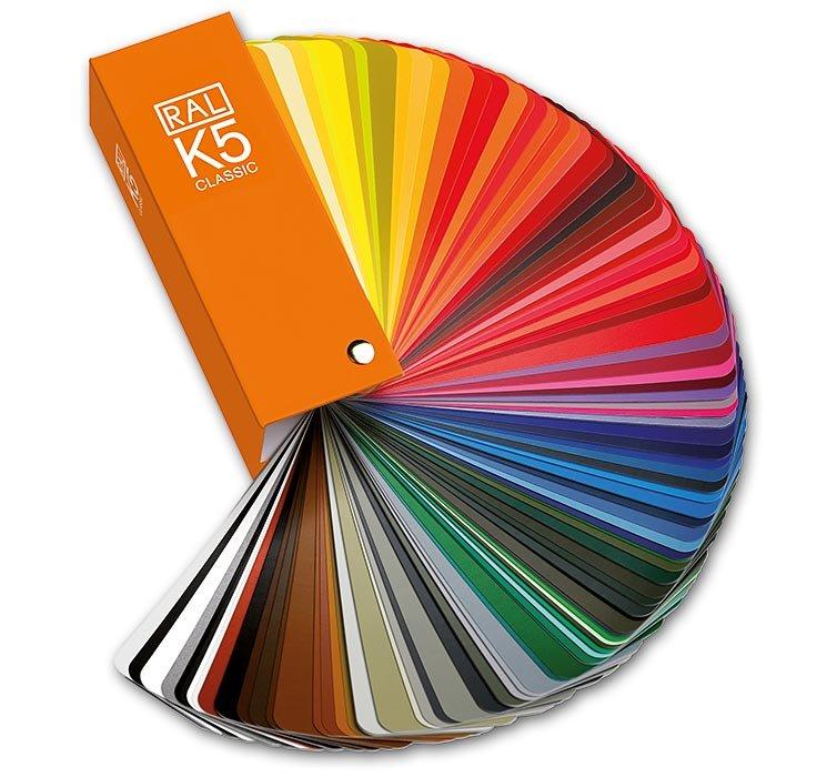 fenêtre alu couleur classique RAL Sélection